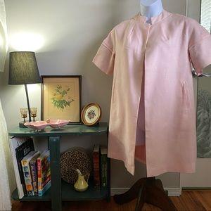 Jacqueline Juniors pale pink over sized light coat
